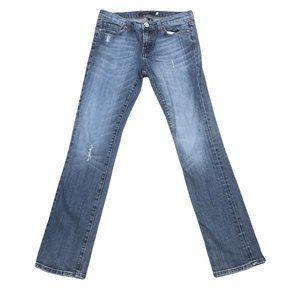 Vigoss London Straight Womens Low Rise Denim Jeans